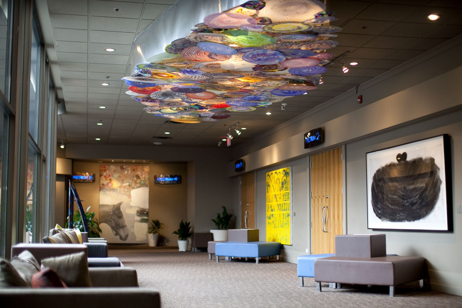 Hotel Foyer Art : Palette to palate food and art tours hotel arts