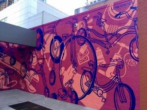 Hotel Arts Mural